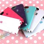 case iphone 5 เคสไอโฟน5 Dexter Speck iPhone5 เคสสีหวาน ขอบสีตัดมีปุ่มกดข้าง สวยๆ