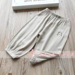 กางเกง สีเทา แพ็ค 5 ชุด ไซส์ 100-110-120-130-140