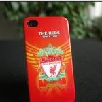 case iphone 4s 4 เคสลายสโมสรฟุตบอลชั้นนำ liverpool manu Barcelona Real Madrid chelsea Arsenal