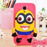 เคส S4 Case Samsung Galaxy S4 i9500 เคสซิลิโคนลาย despicable me น่ารักๆ