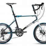 """จักรยานมินิหมอบ Trinx Z6 ,จักรยาน MINI Velo ล้อ 20"""" เฟรมอลูมิเนียม 16 สปีด Claris ,ดุมแบร์ริ่ง Novatec 2017"""