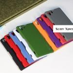 เคสโซนี่ Z1 Case Sony Xperia Z1 พลาสติกผิวสัมผัสเนื้อทราย สุดหรู