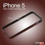 case iphone 5 เคสไอโฟน5 ขอบเคส bumper 2ชั้นสลับสีตัดกันสวยๆ เคสมือถือราคาถูกขายปลีกขายส่ง