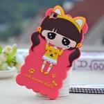เคส Huawei P8 ซิลิโคน 3D สามมิติเด็กผู้หญิง การ์ตูนน่ารัก ราคาส่ง ราคาถูก