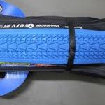 PANARACER ยางนอก 26x1.25 รุ่น T-SERVE, ขอบพับ, สีฟ้า