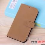 เคส S4 Case Samsung Galaxy S4 i9500 เคสกระเป๋าหนังฝาพับข้าง บางๆ โทนสีแนวเข้มขรึม เรียบๆ แบบมีสไตล์ สามารถตั้งได้ ใส่บัตรได้ Slim Business holster shell