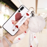 เคส Huawei P20 Pro ซิลิโคนสกรีนลายหัวใจ พร้อมสายคล้องมือ สวยงามมาก ราคาถูก