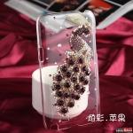 เคส Note 2 Case Samsung Galaxy Note 2 เคสประดับเพชรและคริสตัลหลายสีเป็นรูปนกยูงหรูหราอลังการสุดๆ