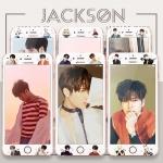 ฟิล์มกระจก iphone GOT7 (เลือกรุ่น+ลาย)