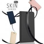 เคส Xiaomi Redmi 5 Plus แบบฝาพีบหนังเทียมพรีเมี่ยมเย็บขอบสวยงาม ด้านในใส่บัตรได้ ราคาถูก