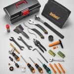 กล่องเครื่องมือชุดใหญ่ IceToolz Pro Shop Mechanic Tool Kit, 85A7