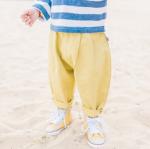 กางเกง สีเหลือง แพ็ค 5 ชุด ไซส์ 80-90-100-110-120
