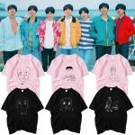 เสื้อยืด (T-Shirt) ลายรูปวาดจากหนุ่มๆ BTS