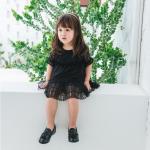 ชุดกระโปรง สีดำ แพ็ค 5ชุด ไซส์ 80cm-90cm-100cm-110cm-120cm