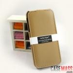 case iphone 4s 4 เคสหนังฝาพับเปิดบน-ล่าง สวยๆ ดูดี Germany Melkco Leather iPhone4 4s