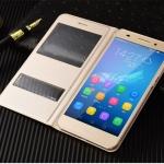 เคส Huawei Y6II แบบฝาพับโชว์หน้าจอ สวยงามมาก ราคาถูก
