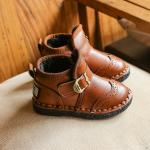 รองเท้าเด็กแฟชั่น สีน้ำตาล แพ็ค 5 คู่ ไซส์ 27-28-29-30-31