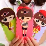 เคส A7 Case Samsung Galaxy A7 ซิลิโคนเด็กผู้หญิงแสนหวานน่ารักแนวคุณหนู ร่าเริง สดใส ราคาส่ง ราคาถูก ราคาปลีก