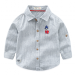 เสื้อ สีเทา แพ็ค 5 ชุด ไซส์ 90-100-110-120-130