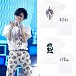 เสื้อยืด (T-Shirt) SHINee WORLD FIVE ลายการ์ตูน