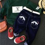 เสื้อ+กางเกง สีเขียว แพ็ค 5 ชุด ไซส์ 90-100-110-120-130 (เลือกไซส์ได้)