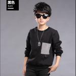 เสื้อ (ด้านในมีขน) สีดำ แพ็ค 5 ชุด ไซส์ 130-140-150-160-170 (เลือกไซส์ได้)