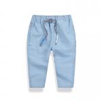 กางเกงขายาวสีฟ้า [size 4y-5y-6y-7y-8y]