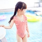 ชุดว่ายน้ำ สีชมพู แพ็ค 5 ชุด ไซส์ 2-3ปี, 3-4ปี ,4-5ปี ,5-6ปี ,7-8ปี