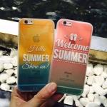 เคส iPhone 6s Plus / 6 Plus (5.5 นิ้ว) พลาสติกสีสันสดใสสกรีนลายน่ารัก ราคาถูก