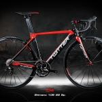 จักรยานเสือหมอบ Twitter C4 22สปีด 105 เฟรมอลู ตะเกียบคาร์บอน 2018