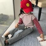 เสื้อ+กางเกง สีแดง แพ็ค 6 ชุด ไซส์ 110-120-130-140-150-160