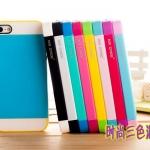 เคส iphone 5 NX CASE เคสซิลิโคนนิ่มๆ สลับสีหวานๆ Korean fashion hit color shell three-color mix