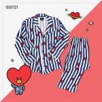 #BT21 PAJAMAS ชุดนอน (เสื้อ+กางเกง) : TATA