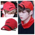 หมวก VIBRATE สีแดง แบบ Daniel