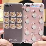 เคส iPhone 7 Plus (5.5 นิ้ว) พลาสติก TPU สกรีนลายน้องแมวน่ารัก ราคาถูก