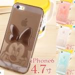 เคส iphone 6 ขนาดจอ 4.7 นิ้ว ซิลิโคน TPU มินนี่เม้าส์สุดน่ารักโปร่งใส ราคาถูก -B-