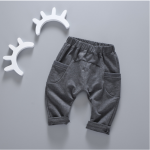 กางเกง สีดำ แพ็ค 4ชุด ไซส์ 80-90-100-110 (เหมาะสำหรับ 6ด.-4ปี)
