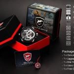 นาฬิกาข้อมือชาย Shark Sport Watch SH121+ZC155