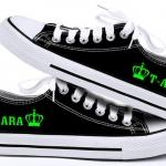 รองเท้าผ้าใบเรืองแสง T-ARA