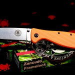Esee Zancudo Orange Handle
