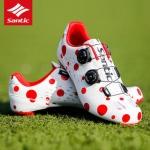 รองเท้าเสือหมอบ SANTIC รุ่น S12024W สีขาวแดง SIZE 41,42,43,44,45