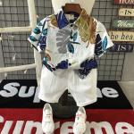 เสื้อ+กางเกง สีขาว แพ็ค 5ชุด ไซส์ 90-100-110-120-130