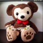 ตุ๊กตาหมีน้อยดัฟฟี่ดิสนี่ย์ Disney duffy Plush doll งานคัดมือสองตู้ญี่ปุ่นสภาพนิ๊งๆ ขนฟูน่ารักมากจ้า