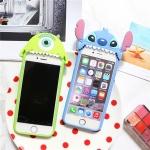 เคส iPhone 6s / iPhone 6 (4.7 นิ้ว) ซิลิโคน TPU 3 มิติ การ์ตูนสุดฮิตตลอดกาล น่ารักมากๆ ราคาถูก