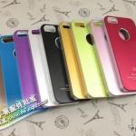 case iphone 5 เคสไอโฟน5 เคสโลหะเคลือบ Air jacket เงาด้าน สวยเท่ๆ หลายสี มีรูโชว์โลโก้ด้านหลังเครื่อง