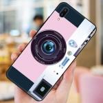 เคส VIVO X21 ซิลิโคนรูปกล้องถ่ายรูปน่ารัก ตรงเลนส์สามารถยืดออกมาตั้งได้ ราคาถูก