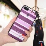 เคส Huawei Y9 (2018) ซิลิโคนลายตารางกราฟฟิค พร้อมสายคล้อง ราคาถูก