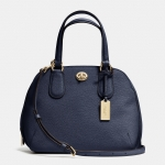 Preorder COACH PRINCE STREET MINI SATCHEL IN CROSSGRAIN LEATHER Style No: 34940