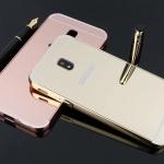 เคส Samsung J5 Pro แบบประกอบ 2 ชิ้น ขอบเคสโลหะ Bumper + พร้อมแผ่นฝาหลังเงางามสวยจับตา ราคาถูก