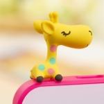 จุกกันฝุ่น จุกปลั๊กกันฝุ่น ยีราฟ น่ารักๆ Cute giraffe dust plug